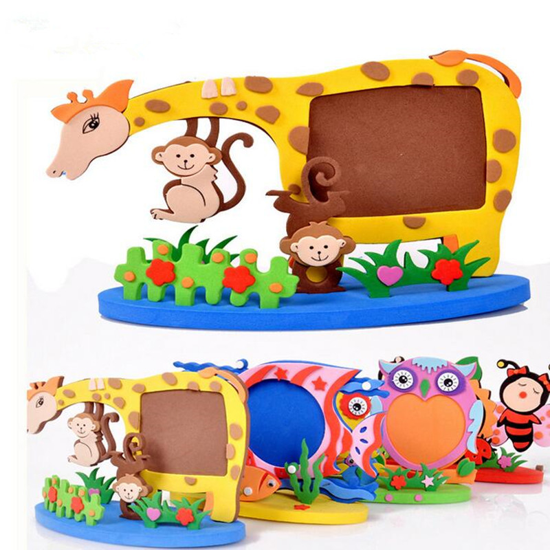 Best ideas about DIY Picture Frame For Kids . Save or Pin Kids Handmade Animal Frame DIY Animal Picture Frame Now.