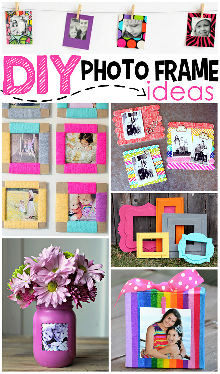 Best ideas about DIY Picture Frame For Kids . Save or Pin 11 DIY Paper Frames That Are Easy And Bud Now.