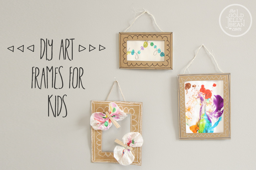 Best ideas about DIY Picture Frames For Kids . Save or Pin DIY Now.