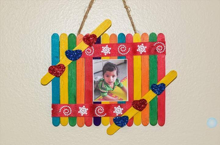 Best ideas about DIY Picture Frames For Kids . Save or Pin 32 Easy & Best DIY Picture Frame Crafts Now.