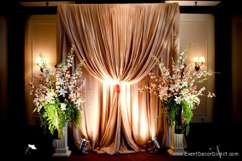 Best ideas about DIY Pipe And Drape Backdrop For Wedding . Save or Pin Professional Wedding Backdrop Kit w Pipe Drape and Now.