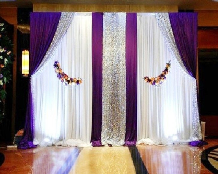 Best ideas about DIY Pipe And Drape Backdrop For Wedding . Save or Pin Pipe and Drape System or telescopic pole and backdrop or Now.