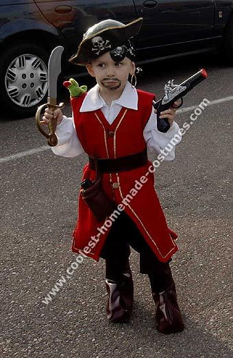Best ideas about DIY Pirate Costumes For Kids . Save or Pin 10 Cool Homemade Pirate Costume Ideas for Halloween Now.