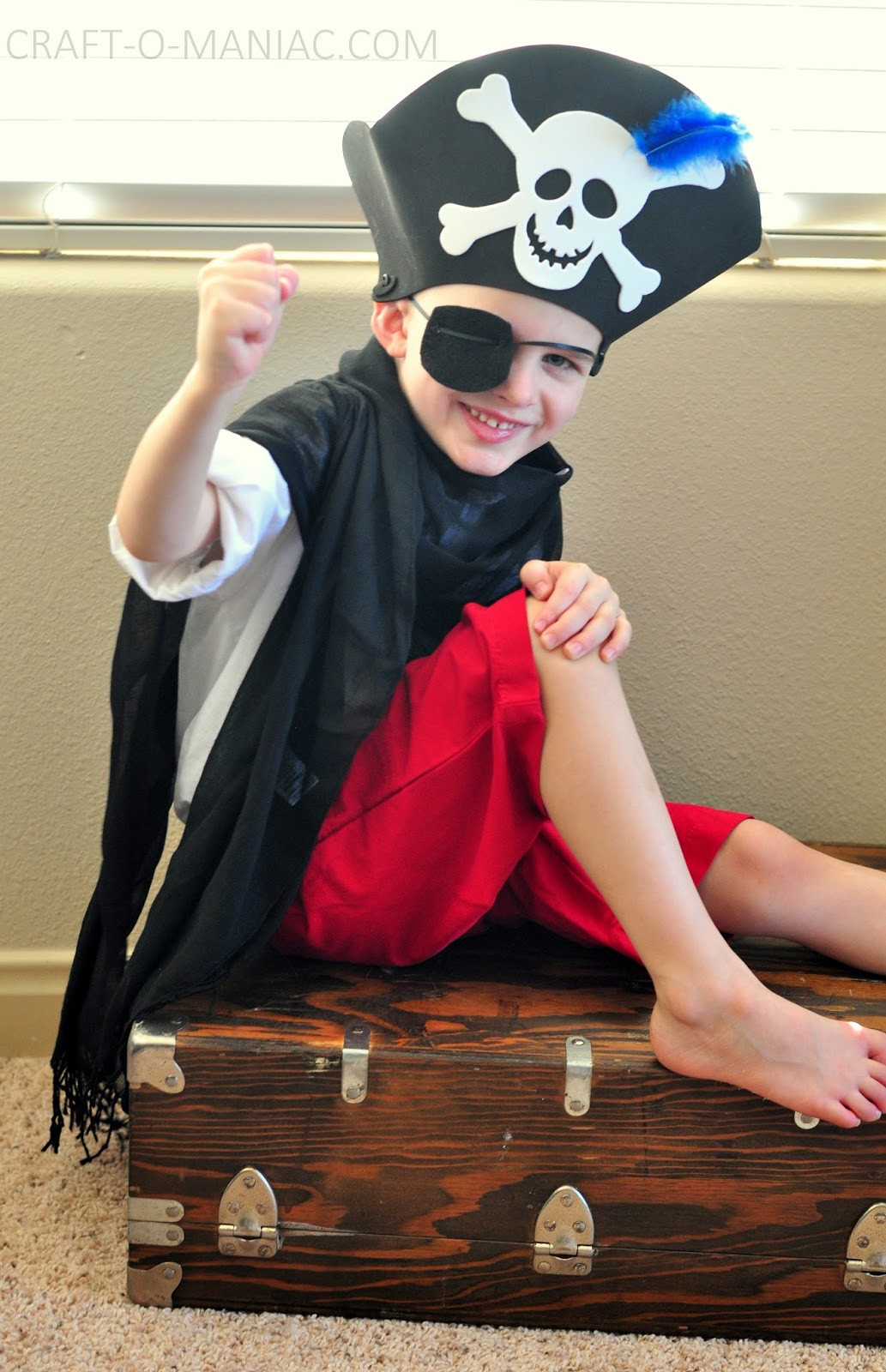 Best ideas about DIY Pirate Costumes For Kids . Save or Pin Kids Activity Dress Up Costumes Craft O Maniac Now.