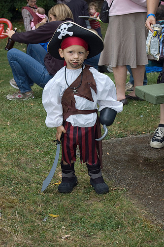 Best ideas about DIY Pirate Costumes For Kids . Save or Pin Homemade Halloween costume ideas Today s Parent Now.