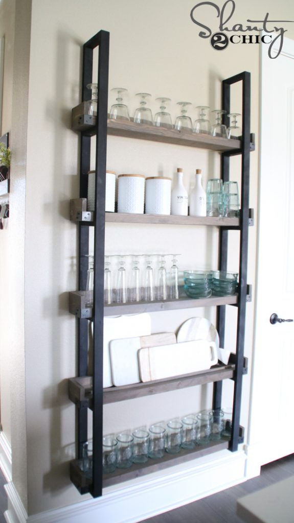 Best ideas about DIY Plate Rack . Save or Pin DIY Floating Plate Rack and How To Video Shanty 2 Chic Now.