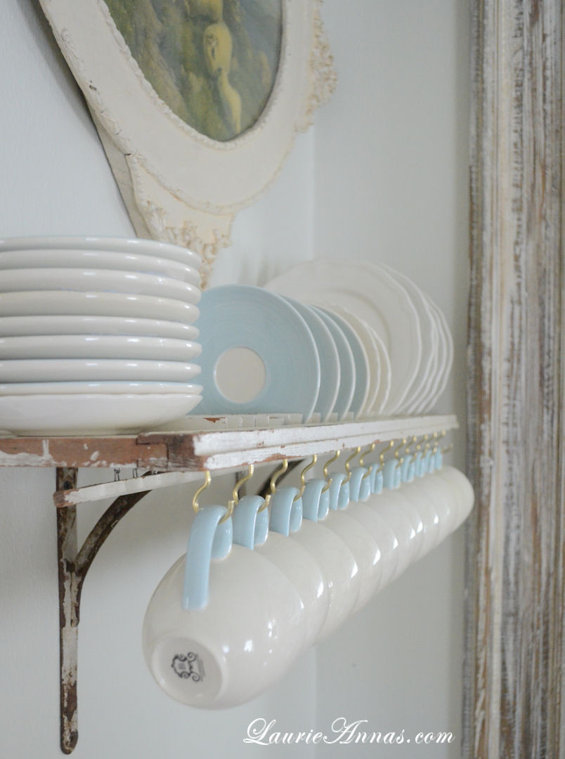 Best ideas about DIY Plate Rack . Save or Pin LaurieAnna s Vintage Home DIY Shutter Plate Rack Now.