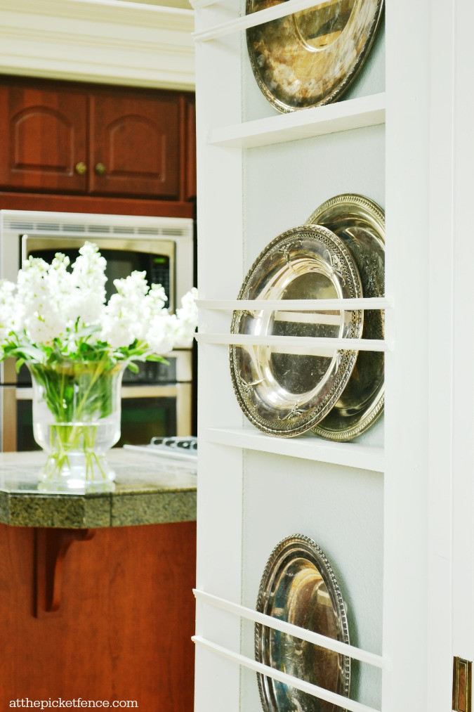 Best ideas about DIY Plate Rack . Save or Pin DIY Wall Plate Rack At The Picket Fence Now.
