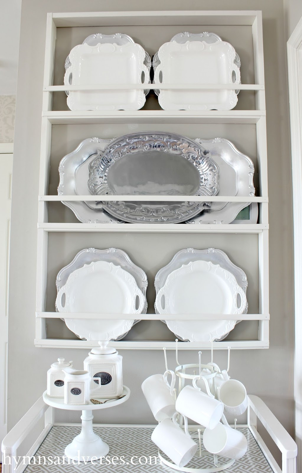 Best ideas about DIY Plate Racks . Save or Pin Build Your Own DIY Plate Rack Easy Plans Hymns and Verses Now.