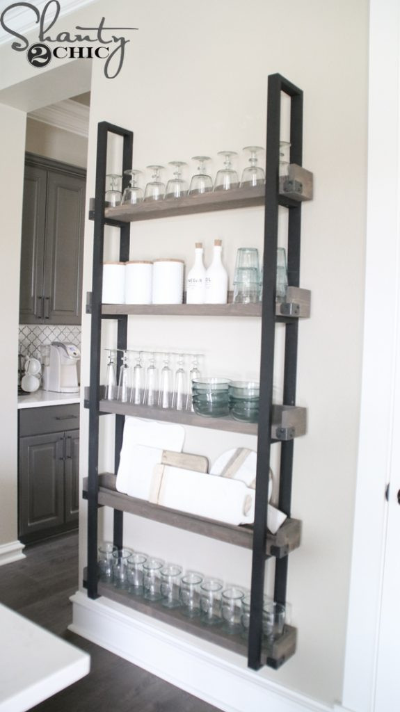 Best ideas about DIY Plate Racks . Save or Pin DIY Floating Plate Rack and How To Video Shanty 2 Chic Now.