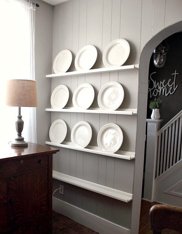 Best ideas about DIY Plate Racks . Save or Pin The Easiest DIY Plate Rack Ever Now.