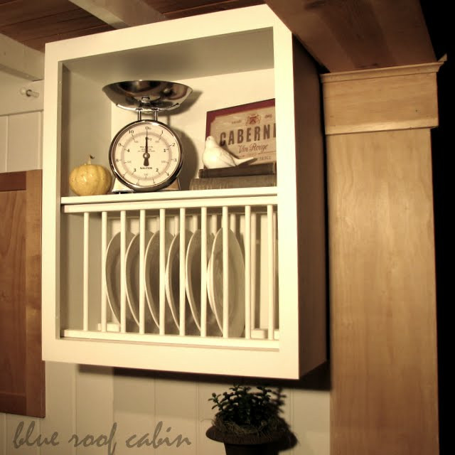 Best ideas about DIY Plate Racks . Save or Pin 20 Inspiring DIY Kitchen Cabinets Simple Do It Yourself Now.