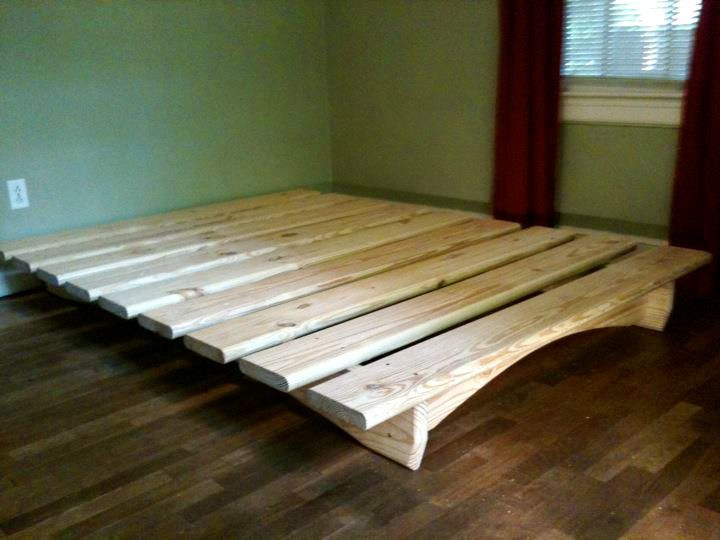 Best ideas about DIY Platform Bed Frame Queen . Save or Pin Best 25 Low Bed Frame ideas that you will like on Now.