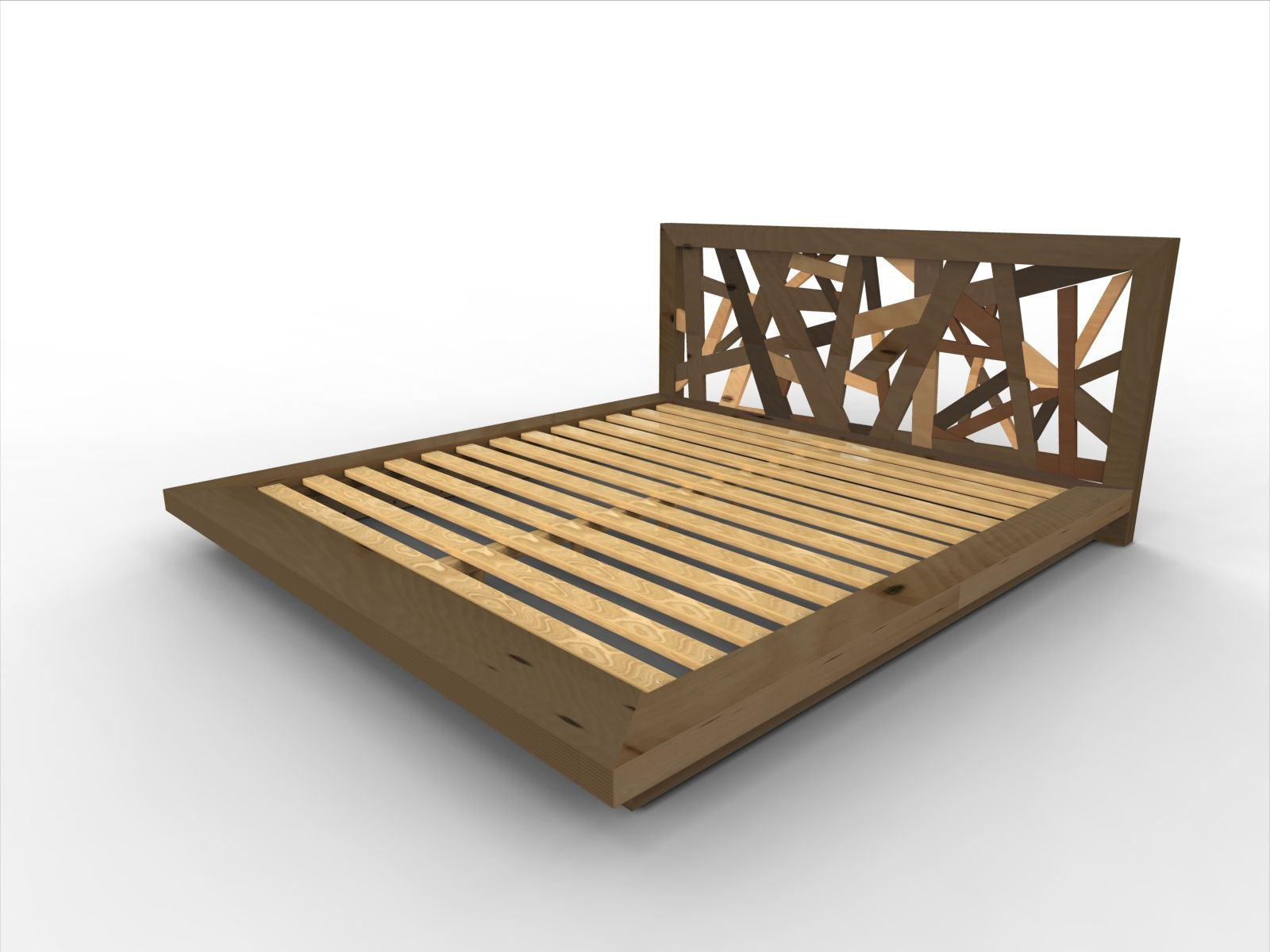 Best ideas about DIY Platform Bed Frame Queen . Save or Pin DIY Bed Frame with Storage Now.