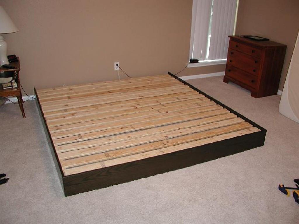 Best ideas about DIY Platform Bed Frame Queen . Save or Pin DIY Platform Bed Frame with Drawers Now.
