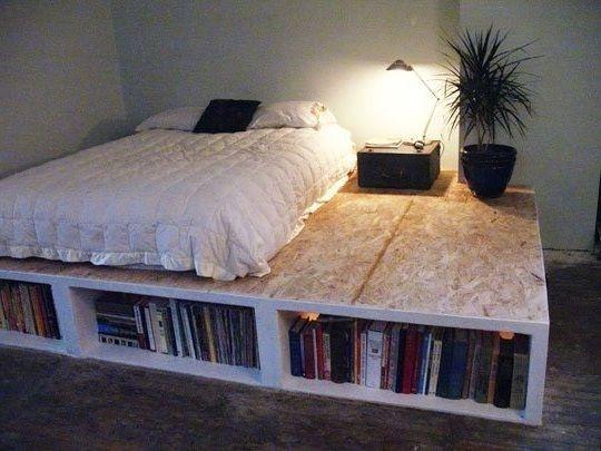 Best ideas about DIY Platform Bed Frame Queen . Save or Pin Best 25 Diy platform bed frame ideas on Pinterest Now.