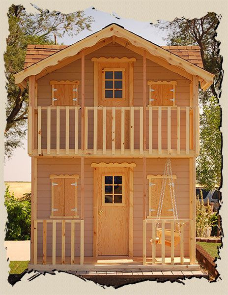 Best ideas about DIY Playhouse Kits . Save or Pin Playhouse kits Do it yourself Country Gal Playhouse Now.
