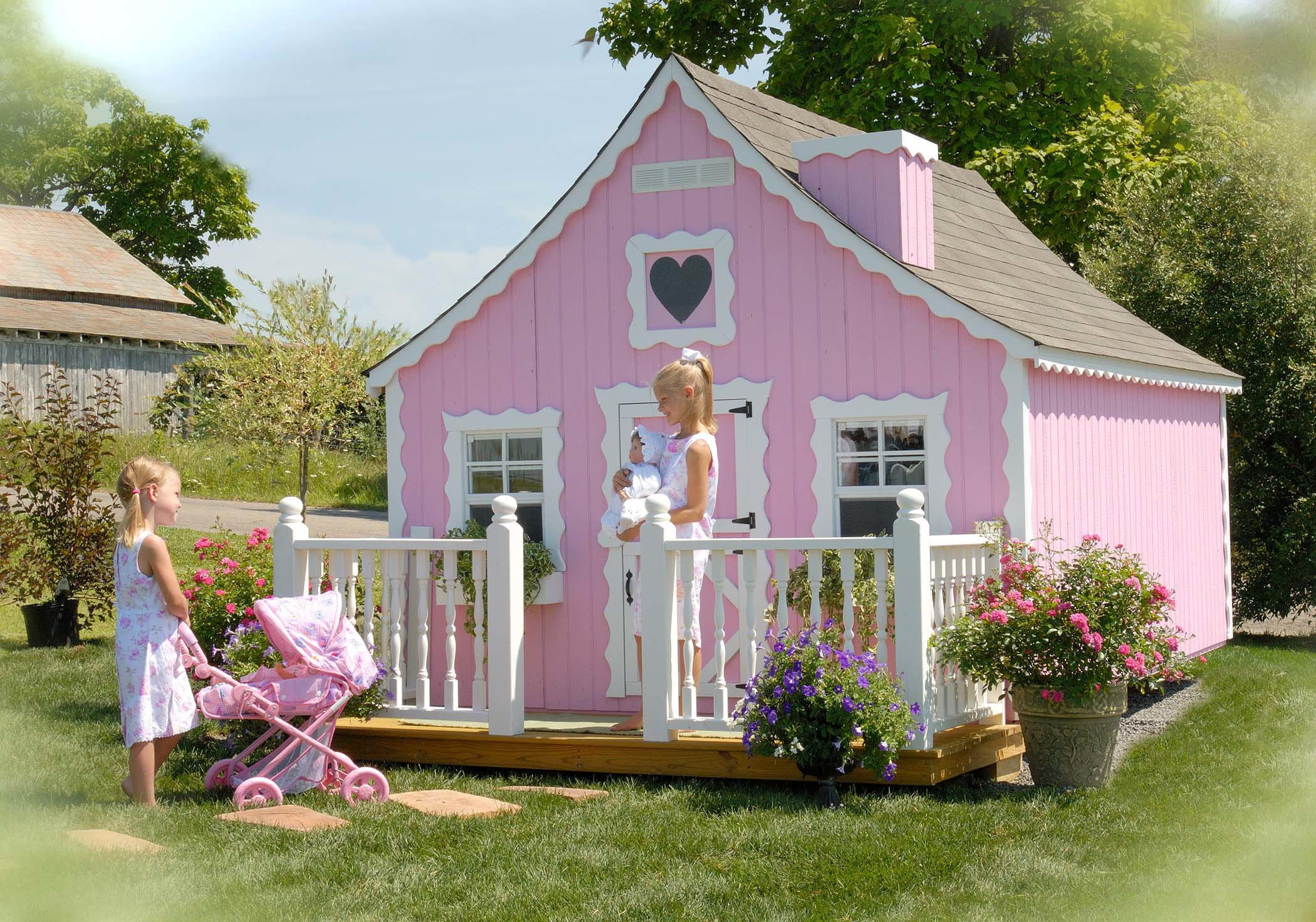 Best ideas about DIY Playhouse Kits . Save or Pin Little Cottage pany Gingerbread DIY Kit Playhouse Now.