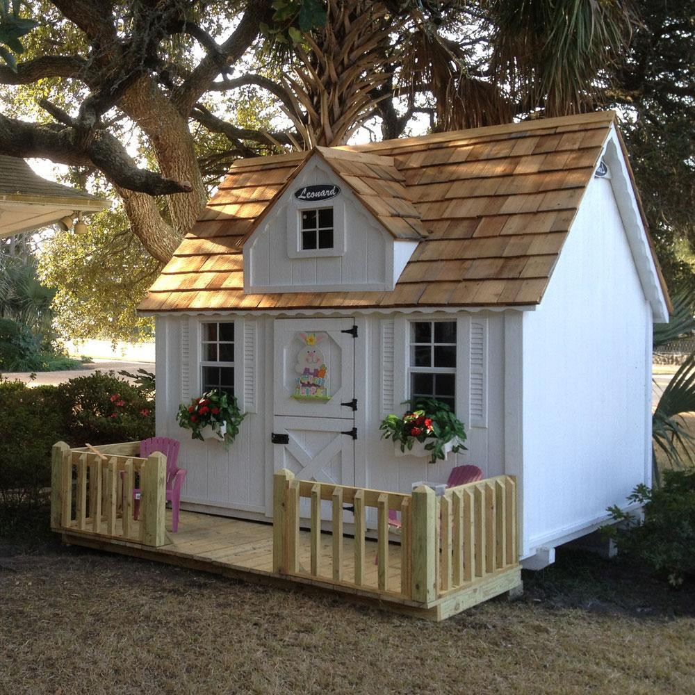 Best ideas about DIY Playhouse Kits . Save or Pin How To Build Yourself Wooden Playhouse Kits – Loccie Now.