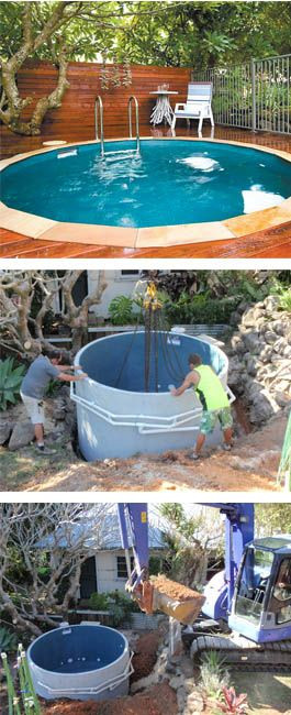 Best ideas about DIY Plunge Pool . Save or Pin plunge pool neato but just the thought of another Now.