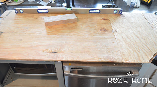 Best ideas about DIY Plywood Countertops . Save or Pin DIY Wood Herringbone Counters Now.