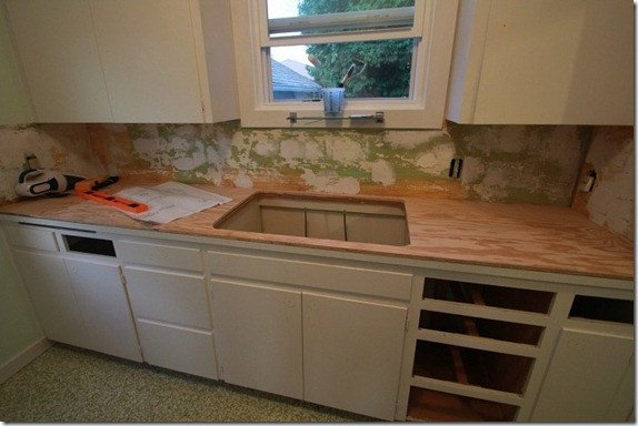 Best ideas about DIY Plywood Countertops . Save or Pin Remodelaholic Now.