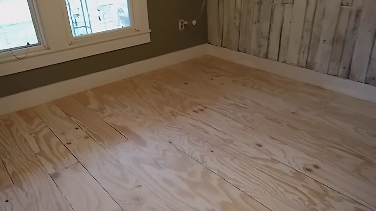Best ideas about DIY Plywood Floor . Save or Pin Plywood flooring DIY Now.