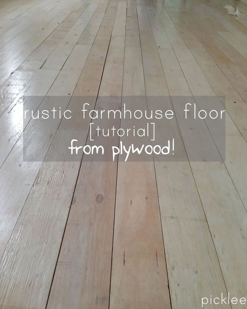 Best ideas about DIY Plywood Floor . Save or Pin plywood floor tutorial Now.
