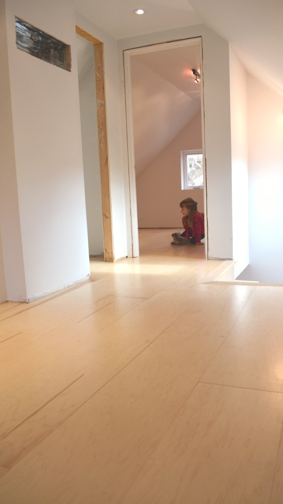 Best ideas about DIY Plywood Floor . Save or Pin The Bennett House DIY plywood floors Now.