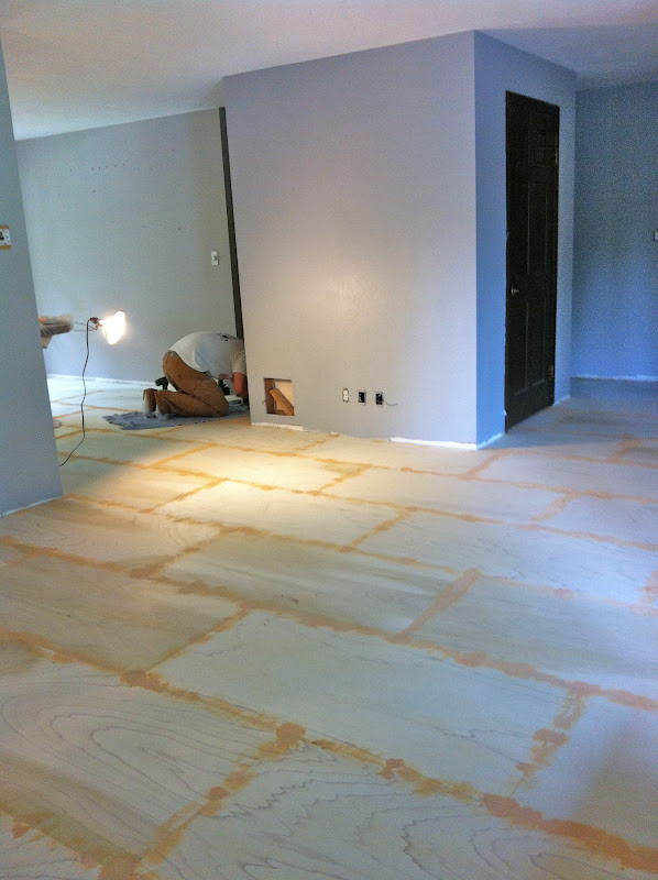 Best ideas about DIY Plywood Floor . Save or Pin Roost Reimagined DIY plywood flooring Now.