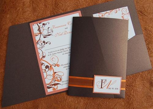 Best ideas about DIY Pocket Wedding Invitations . Save or Pin DIY Pocket fold Wedding Invitation NYC & Barbados Now.