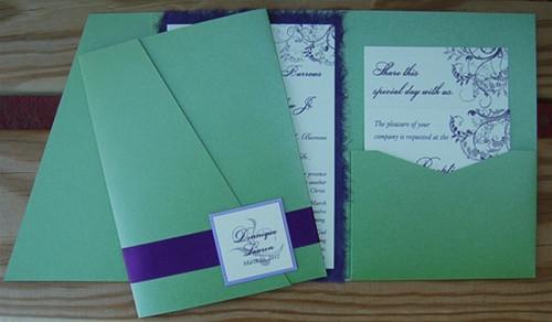 Best ideas about DIY Pocket Wedding Invitations . Save or Pin DIY Pocket fold Wedding Invitation New York CIty Now.