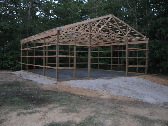 Best ideas about DIY Pole Barn Kits . Save or Pin 32x40x16 DIY Pole Barn Now.