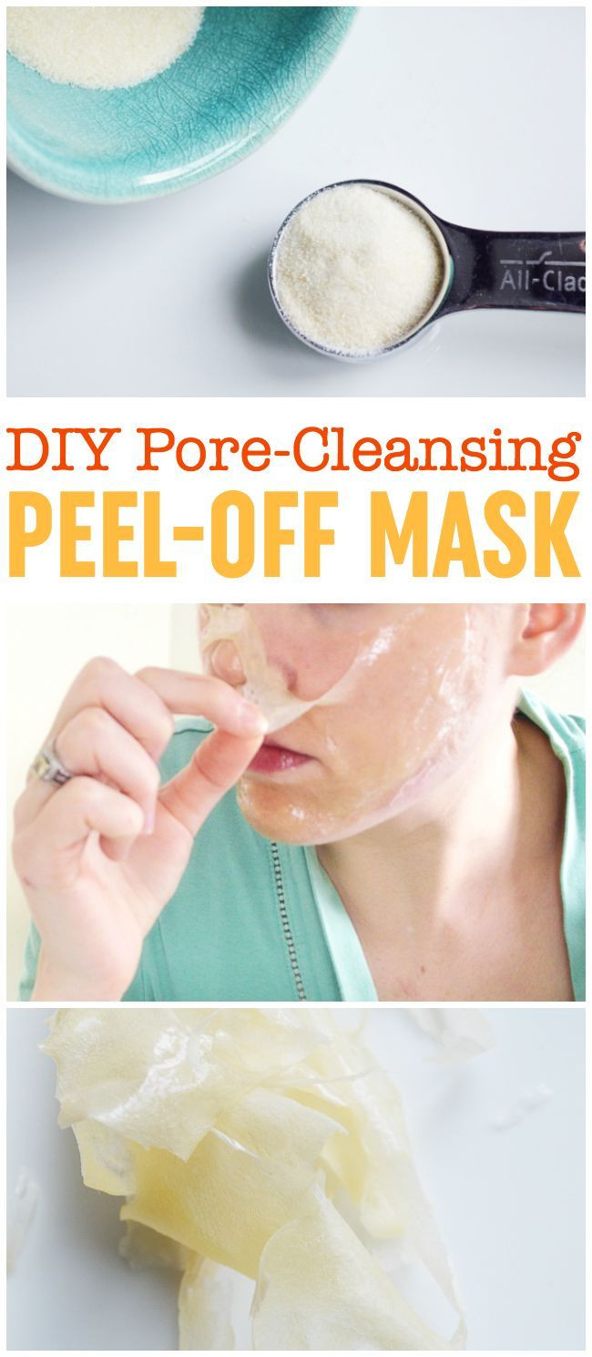 Best ideas about DIY Pore Mask . Save or Pin DIY Peel f Mask Pore Cleansing Blackhead Busting Face Now.