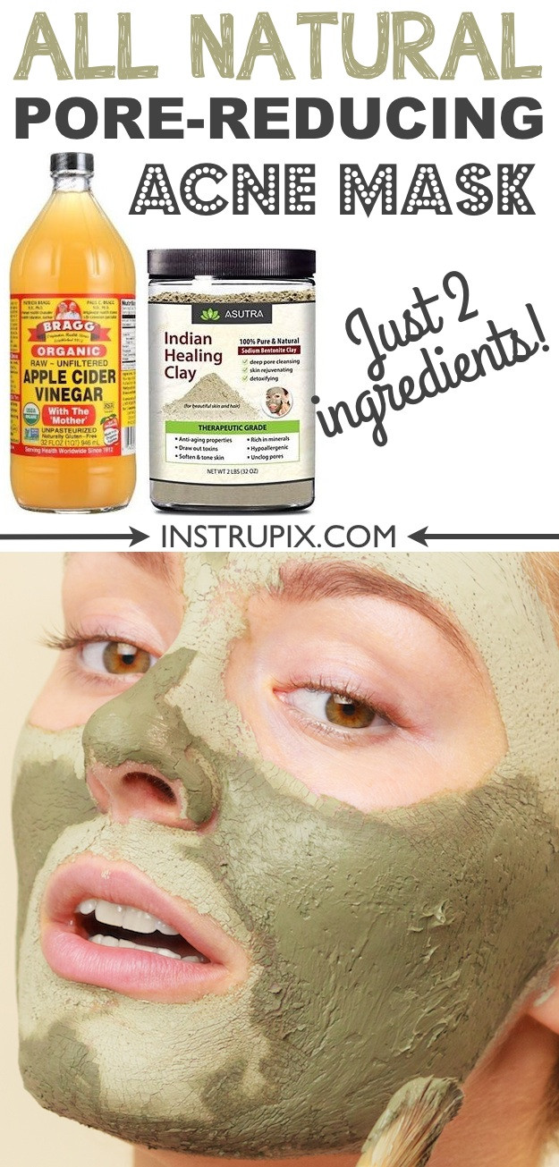 Best ideas about DIY Pore Mask . Save or Pin Homemade Face Mask For Acne and Blackheads 2 ingre nts Now.