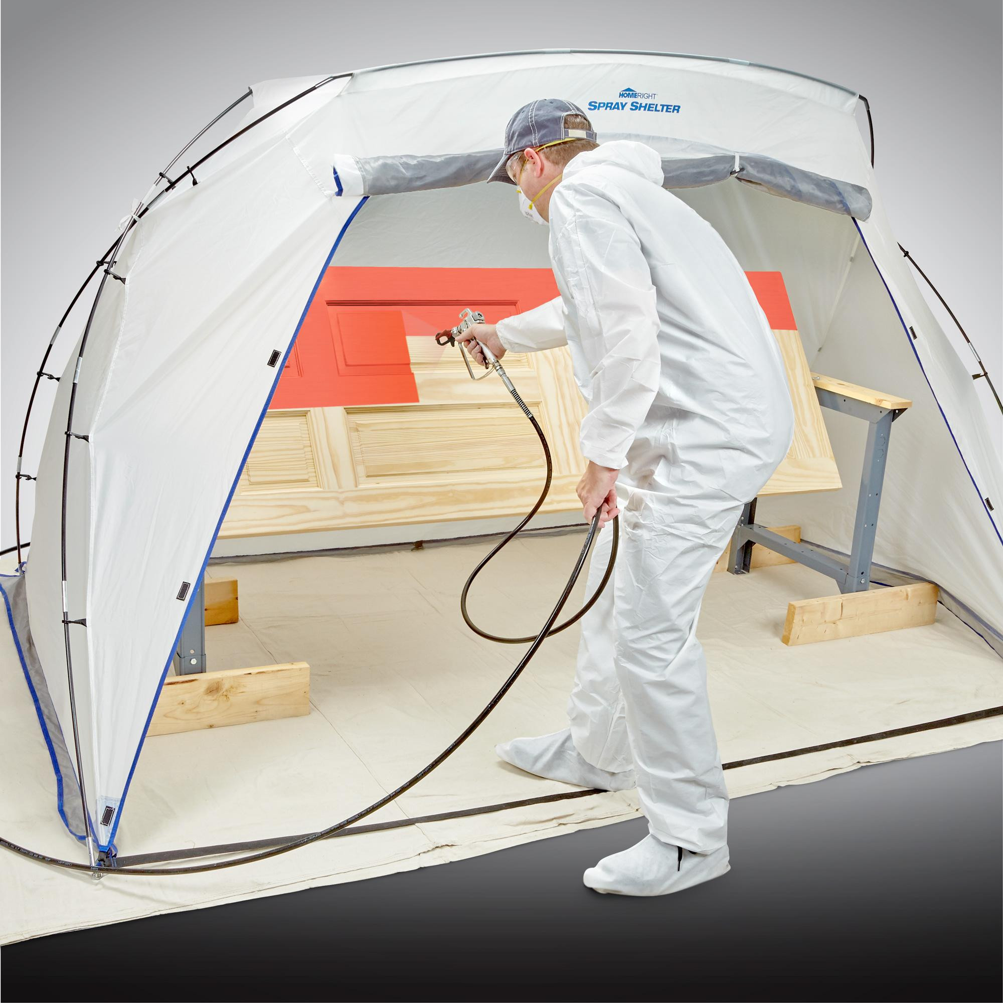 Best ideas about DIY Portable Paint Booth . Save or Pin Amazon HomeRight Spray Shelter C Portable Now.