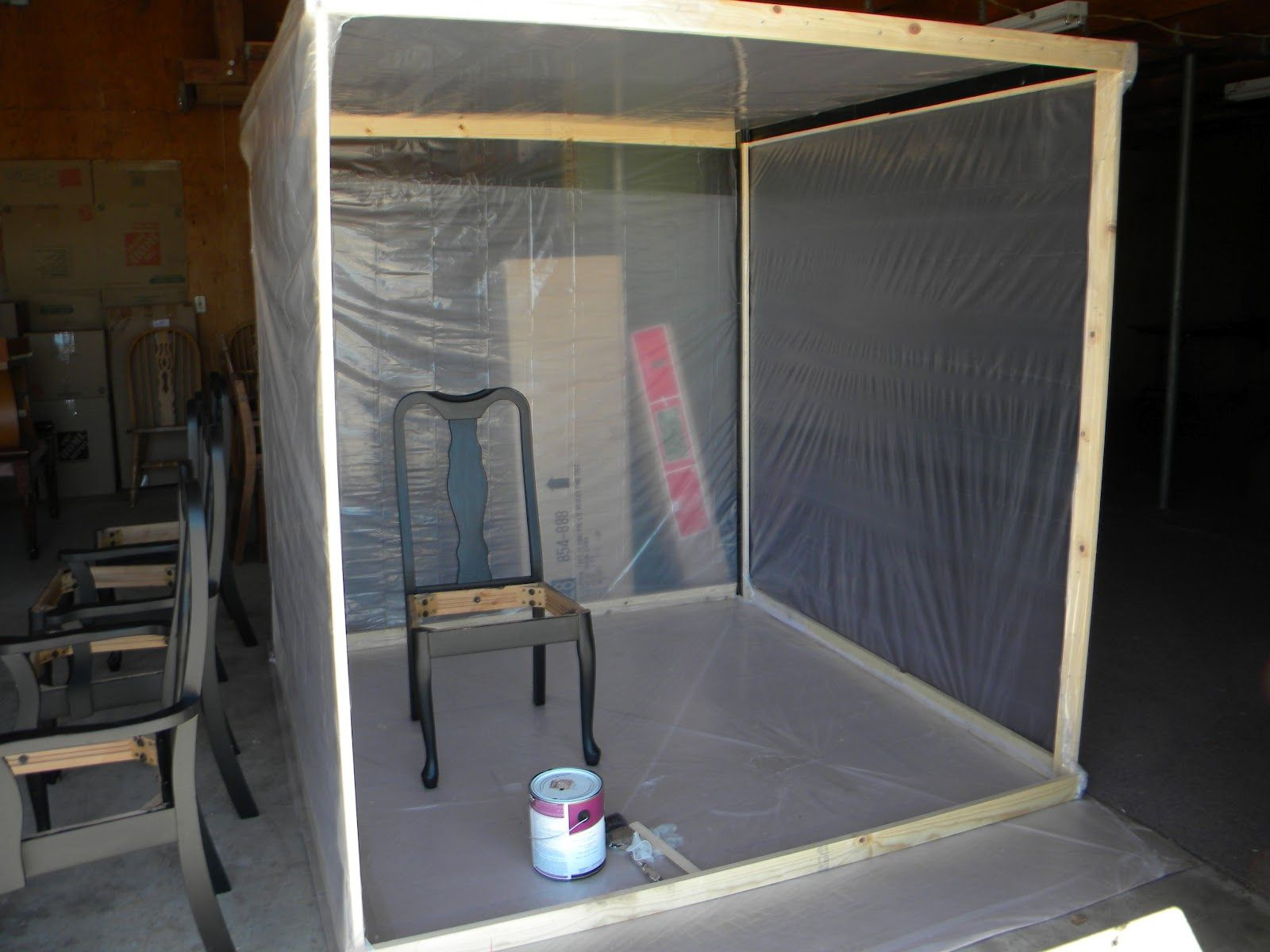 Best ideas about DIY Portable Paint Booth . Save or Pin Beautiful Garage Paint Booth Paint in 2019 Now.