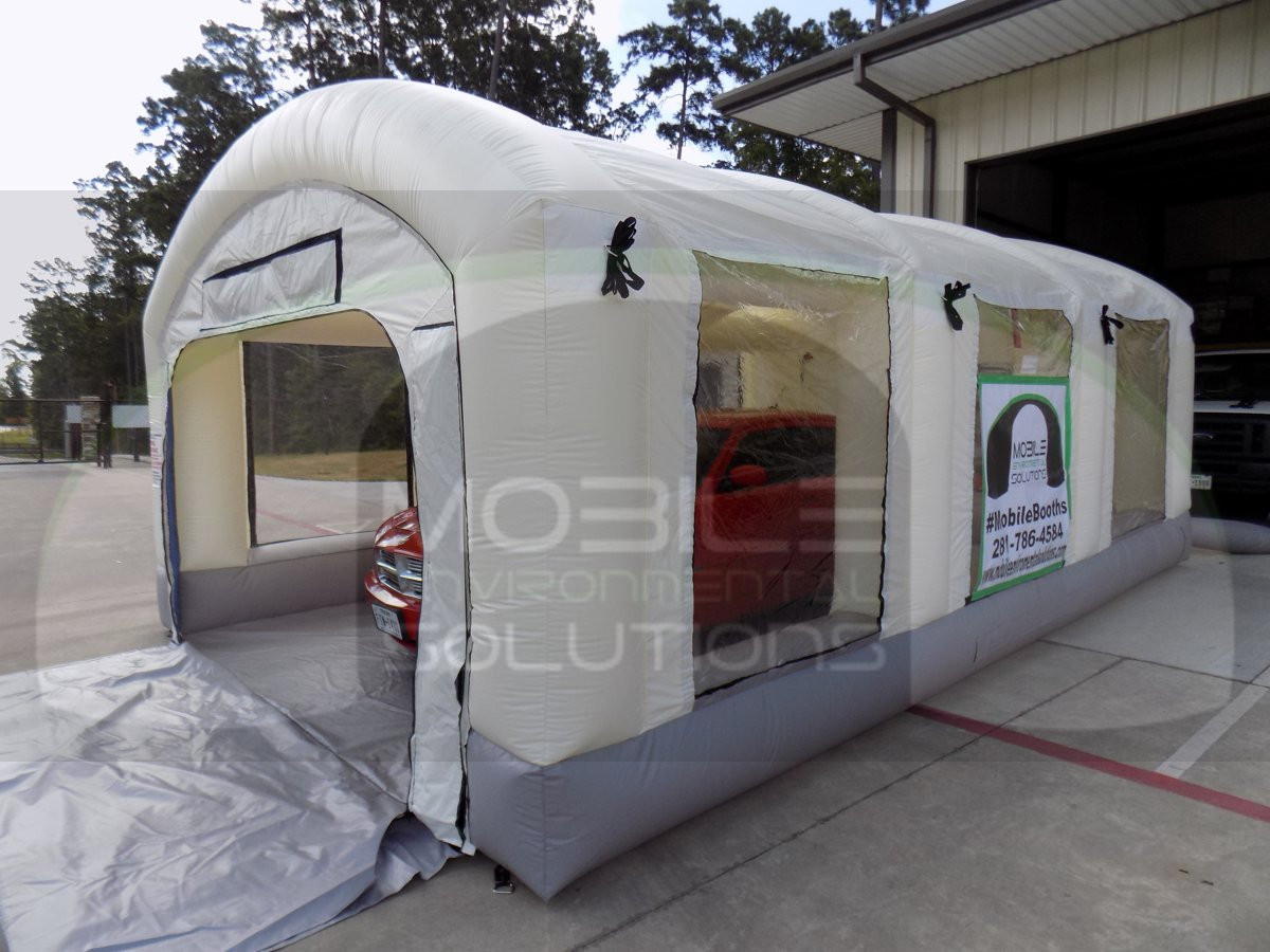 Best ideas about DIY Portable Paint Booth . Save or Pin Portable Paint Booth Mobile Environmental Solutions Now.
