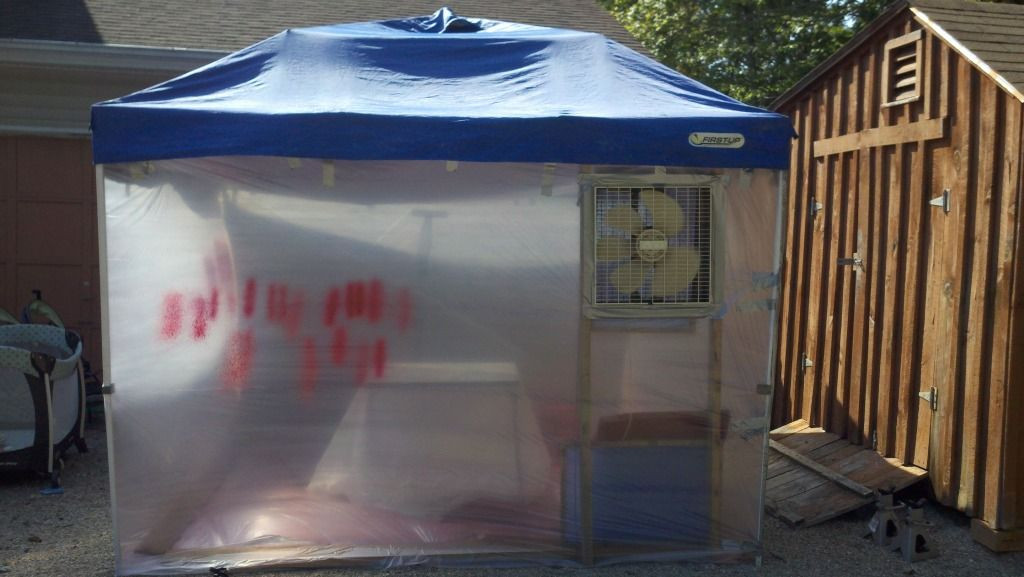 Best ideas about DIY Portable Paint Booth . Save or Pin Portable Paint Tent & Amazon HomeRight Small Spray Now.