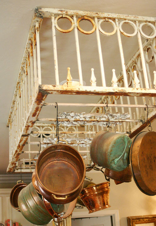 Best ideas about DIY Pot And Pan Rack . Save or Pin DIY Pot Rack Ideas Everyday Items Can Be e Cool Pot Racks Now.