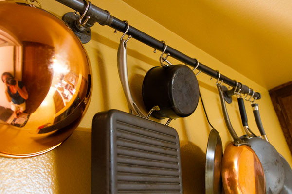 Best ideas about DIY Pot And Pan Rack . Save or Pin Hometalk Now.