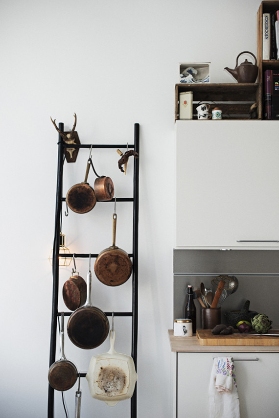 Best ideas about DIY Pot And Pan Rack . Save or Pin 5 creative kitchen storage ideas you can diy Now.