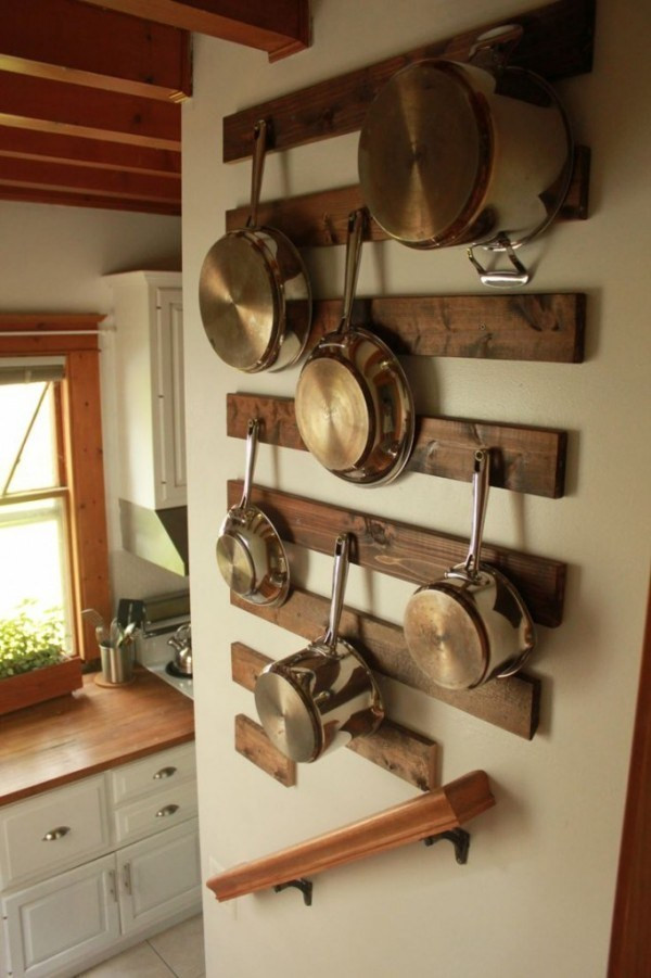 Best ideas about DIY Pot And Pan Rack . Save or Pin 7 DIY Pot Racks from Recycled Items – Recycled Crafts Now.