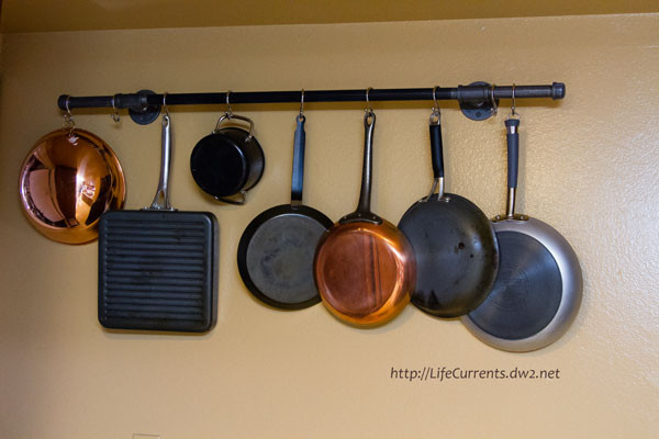 Best ideas about DIY Pot And Pan Rack . Save or Pin DIY Pot Rack With Pipes From Home Depot Now.