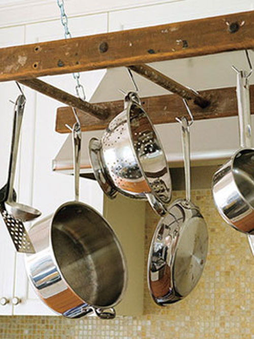 Best ideas about DIY Pot Rack . Save or Pin DIY Pot Rack Ideas Everyday Items Can Be e Cool Pot Racks Now.