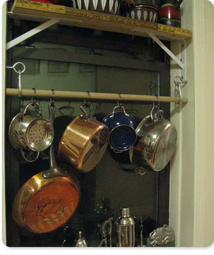 Best ideas about DIY Pot Rack . Save or Pin pot rack diy a guest post from the handyman Now.