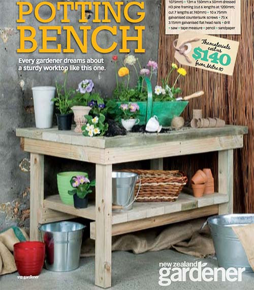 Best ideas about DIY Potting Bench Plans . Save or Pin 45 DIY Potting Bench Plans That Will Make Planting Easier Now.