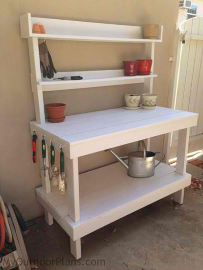 Best ideas about DIY Potting Bench Plans . Save or Pin 65 DIY Potting Bench Plans pletely Free Now.