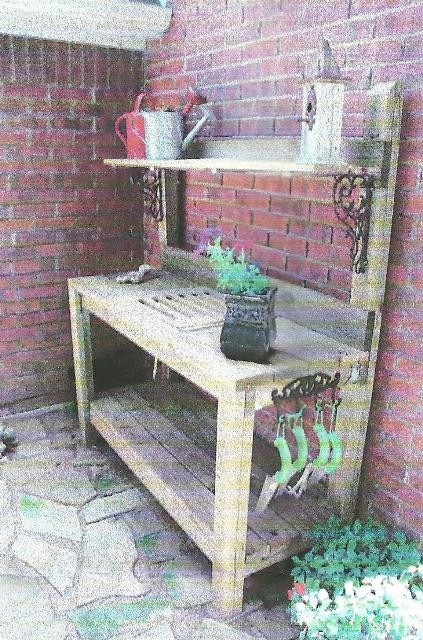 Best ideas about DIY Potting Bench Plans . Save or Pin Signature Gardens Potting in DIY Style Now.
