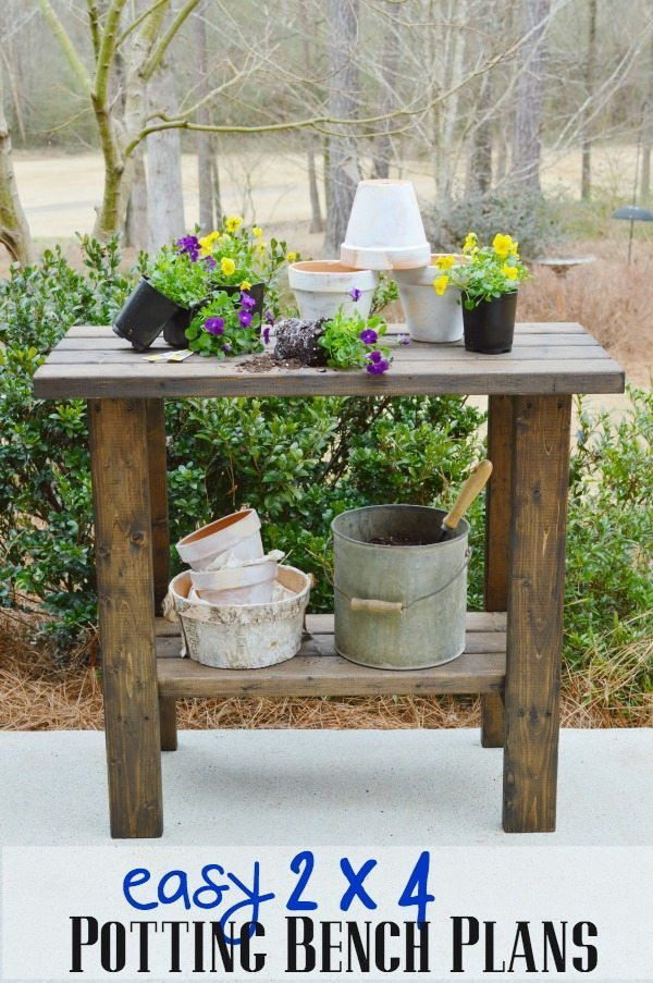 Best ideas about DIY Potting Bench Plans . Save or Pin Potting Bench Plans Now.